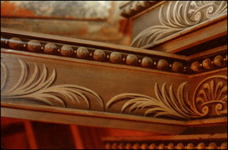 Painted Georgian and Regency furniture with trompe l'oeil decoration by John R. Hunt
